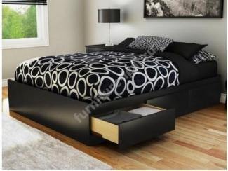 Удобная кровать с ящиками - Изготовление мебели на заказ «Игал»