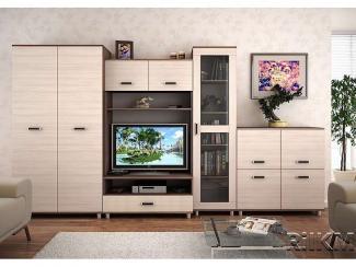 Гостиная стенка Валенсия 3  - Мебельная фабрика «РиИКМ», г. Пенза