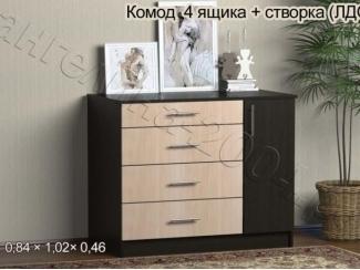 Комод 4 ящика - Мебельная фабрика «Ангелина-2004»