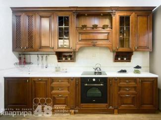 Кухонный гарнитур прямой Тренто - Мебельная фабрика «Камеа (Квартира 48)»
