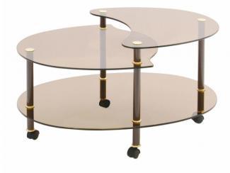 Стол журнальный Тюльпан - Мебельная фабрика «Мебель из стекла»