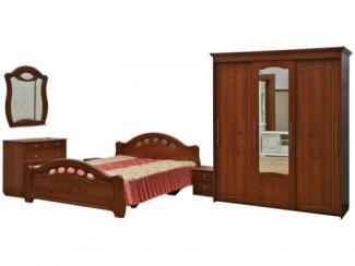 Спальный гарнитур Александра 01 - Мебельная фабрика «Пинскдрев»