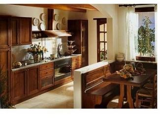 Кухня из массива Аризона - Мебельная фабрика «Дельфин»