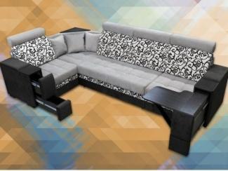 Угловой диван Марта 2 закругленная - Мебельная фабрика «Виктория»