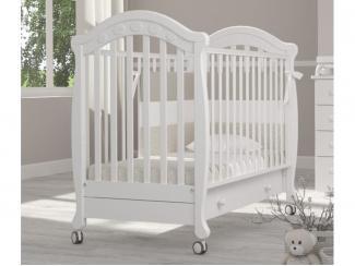 Детская кроватка на колесах Гандылян Джозеппе - Мебельная фабрика «Гандылян»