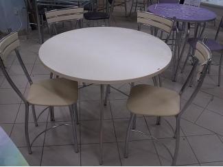 Стол обеденный круглый СО 9 пластик