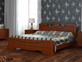 Кровать Елена 3 - Мебельная фабрика «Bravo Мебель»
