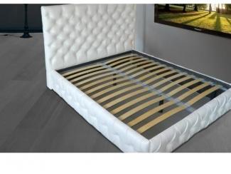 Кровать с каретной стяжкой - Мебельная фабрика «Евростиль», г. Казань