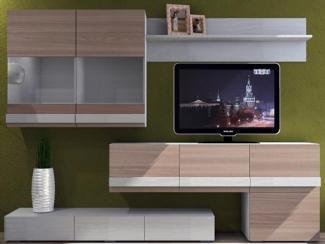Гостиный шкаф Лофт 2 НМ 013.09 - Мебельная фабрика «Сильва»