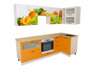 Кухня угловая Утро-6 - Мебельная фабрика «Росвега», г. Ульяновск