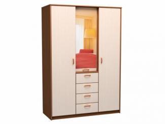 Шкаф трехдверный четыре ящика - Мебельная фабрика «КурскМебель»