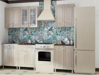 Кухня Смак в цвете тик глянец - Мебельная фабрика «МИГ»