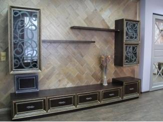 Гостиная Мадрид - Мебельная фабрика «Лидер Массив»