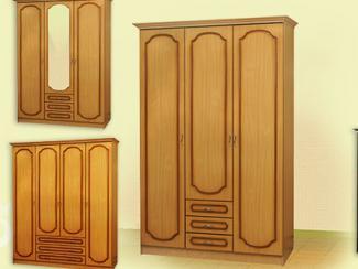 Шкаф распашной «Шк-4» - Мебельная фабрика «Мебель Прогресс»
