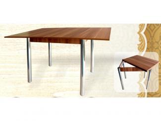 Стол-книжка маленький на металлокаркасе - Мебельная фабрика «Кипарис»