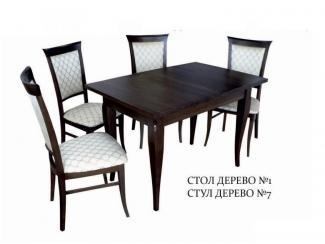 Обеденная группа дерево - Мебельная фабрика «Мир стульев», г. Кузнецк