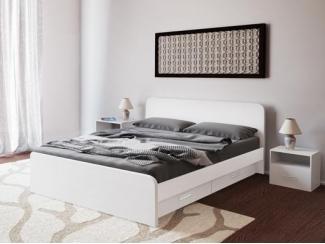 Кровать Элиза 1400 4Ш - Мебельная фабрика «Лагуна»