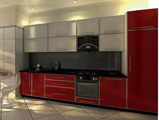 Кухня прямая Дженна пластик - Мебельная фабрика «Вариант М»