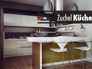 Кухонный гарнитур угловой Йена Хаки - Мебельная фабрика «Zuchel Kuche (Германия-Белоруссия)»