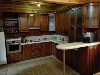 Угловая классическая кухня - Мебельная фабрика «Настоящая Мебель»