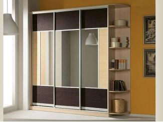 Шкаф в спальню Купе-8 - Мебельная фабрика «Алмаз-мебель»