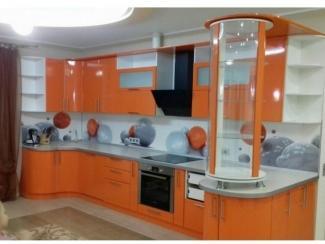Кухня Эмаль Оранж - Мебельная фабрика «Кухни Дизайн»