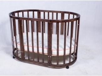 Детская кроватка-трансформер ПАПА КАРЛО 9 В 1 - Мебельная фабрика «Папа Карло»