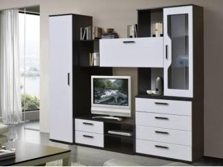 Гостиная стенка модульная Карина комплектация 1 - Мебельная фабрика «Аристократ»