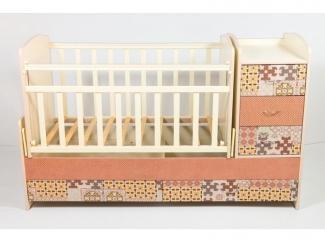 Детская кроватка КТМ ТЕКС ПАЗЛ - Мебельная фабрика «Папа Карло»