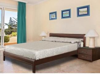 Кровать Селена 3 массив бука - Мебельная фабрика «Диамант-М»