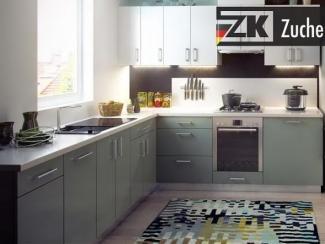 Кухонный гарнитур угловой Бонн Минт