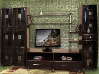 Гостиная стенка Соната 4 - Мебельная фабрика «Кошелев и К»