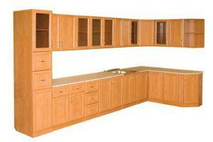 Большая угловая кухня - Мебельная фабрика «Колпинская мебель»