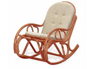 Кресло-качалка с подушкой - Импортёр мебели «Элит-Ротанг (Индонезия)»