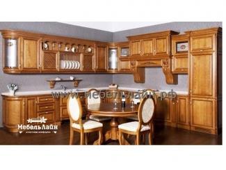 Угловая кухня из дерева - Мебельная фабрика «МебельЛайн»