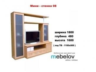 Мини-стенка 08 - Мебельная фабрика «МЕБЕЛов»