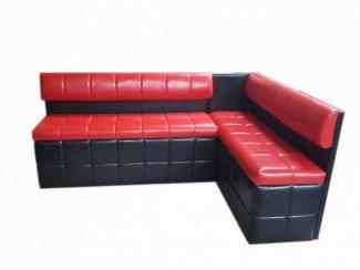 Черно-красный кухонный уголок 71 - Мебельная фабрика «Мега-Проект»