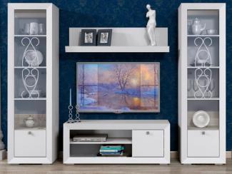 Гостиная стенка Адель 2 - Мебельная фабрика «Сильва»