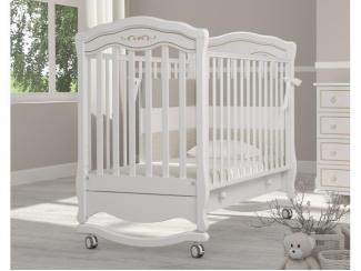 Детская кроватка-качалка Гандылян Шарлотта Люкс - Мебельная фабрика «Гандылян»