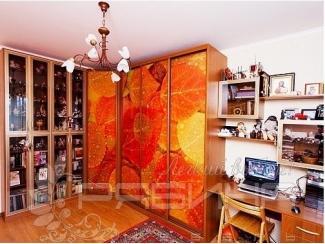 Угловой шкаф-купе Кассель с фотопечатью  - Мебельная фабрика «Рябина», г. Москва