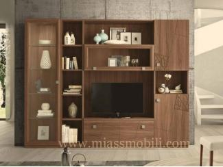 Шкаф в гостиную С 06 - Мебельная фабрика «Миасс Мебель»