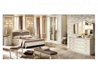 Классическая спальня NOSTALGIA BIANCO ANTICO - Импортёр мебели «Camelgroup»