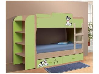 Кровать двухъярусная-1 - Мебельная фабрика «Натали»