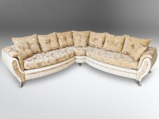 Диван угловой Луиза-3 французская раскл - Мебельная фабрика «Новая мебель»