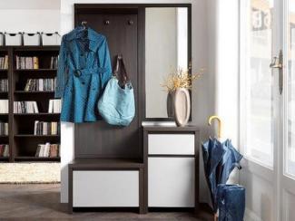 Прихожая прямая без ручек - Изготовление мебели на заказ «Мега»