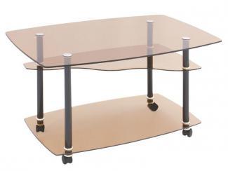 Стол журнальный Прямоугольник - Мебельная фабрика «Мебель из стекла»