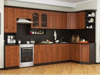 Большая угловая кухня Готика  - Мебельная фабрика «РОСТ»