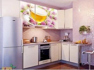 Угловая кухня Жасмин с фотопечатью - Мебельная фабрика «Манго»