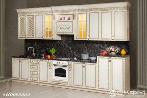Прямая кухня Новелла - Мебельная фабрика «Северо-Кавказская фабрика мебели»