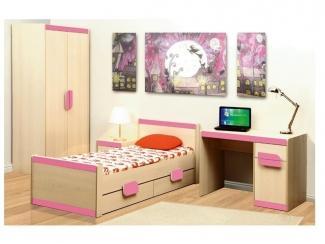 Детская Лайф розовая - Мебельная фабрика «Олмеко»